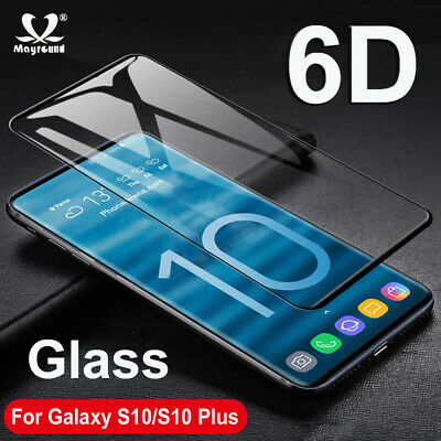 For Samsung Galaxy S10 Plus S10E 6D Curved Tempred Glass Screen Protector Film