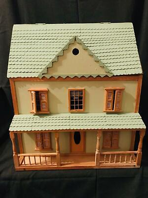 Hand Made Wooden Dolls Play House