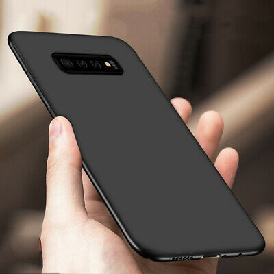 For Samsung Galaxy S10 Plus S10E Slim Silicone Rubber Frosted TPU Cover Case
