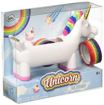 NPW-USA Unicorn Tape Dispenser Office School Supply New in Package