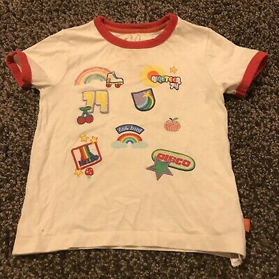 Little Bird Badges T Shirt 18-24 Months