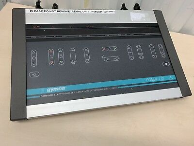 GYMNA COMBI 410, COMBINED ELECTROTHERAPY LASER ULTRASOUND TREATMENT UNIT 1/3Mhz