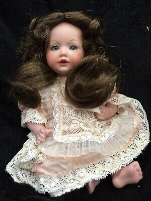 "7"" artist antique reproduction German All Bisque Doll"
