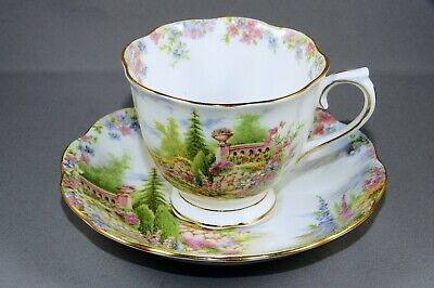 Royal Albert Kentish Rockery bone china Cup and Saucer