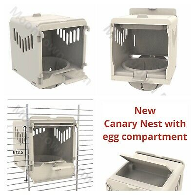 Canary Nest Pans Luxury External Nest Boxes For Canaries, Small Birds In Options