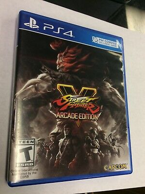 Street Fighter V: Arcade Edition PS4 [Tested]