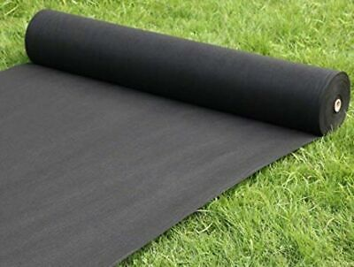 Heavy Duty Weed Control Fabric Membrane Garden Landscape Ground Cover Sheet 50g