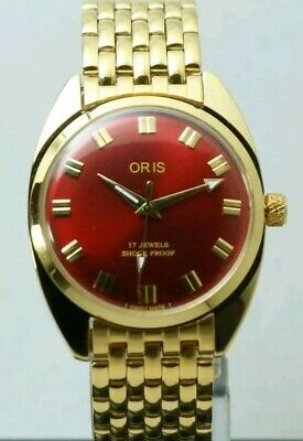 SWISS Made ORIS, Hand  winding, vintage 17 jewels  FHF  ST 96,  35 mm, Working