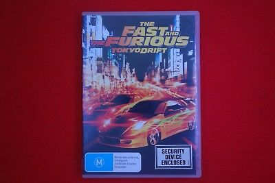 The Fast and the Furious Tokyo Drift - DVD - Free Postage !!