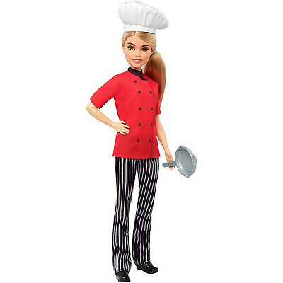 2018 BARBIE CAREERS  Chef Doll FXN99
