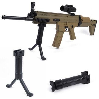 20mm Tactical Rifle Bipod Vertical Hand Fore Grip Foregrip Picatinny Weaver Rail