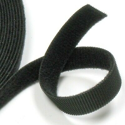 VELCRO® ONE-WRAP® - Double Sided - Reusable - Black - 1mt X 19mm