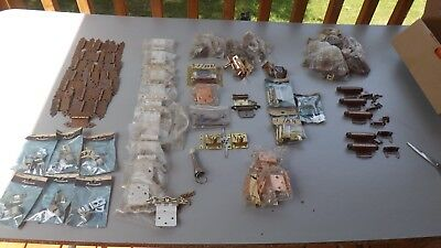 Vintage Lot of Salvage & Other Hardware -  Hinges, Closures, Locks & More