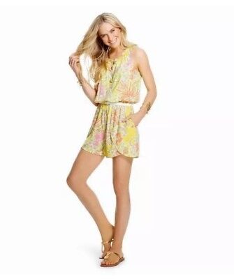 405c0361752 NWT LILLY PULITZER for TARGET Challis Romper Size Large Happy Place ...