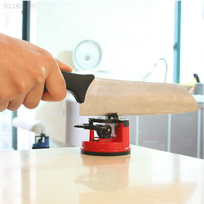 0385 Strong Sucker Knife Sharpener Grinder Secure Chef Sharpening Tool Pad New