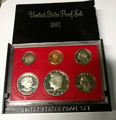 1981-s  U.S.Proof set. Genuine. complete and original as issued by US Mint.