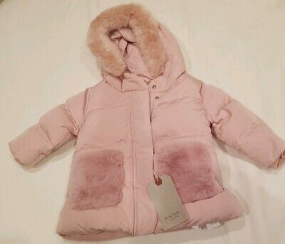 82d299ecb ZARA BABY GIRL Outerwear Collection light Pink winter Coat Toddler ...