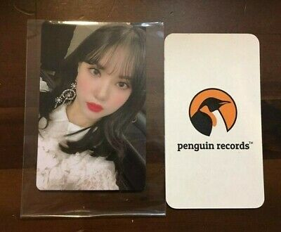 Gfriend - Vol.2 Time For Us Limited Edition Eunha Photo Card - 2