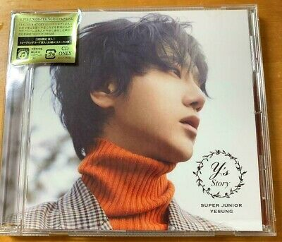 SUPER JUNIOR YESUNG STORY Normal Edition CD+Photocard Japan K-POP