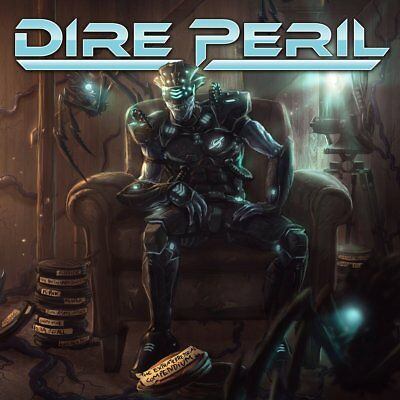 DIRE PERIL - The Extraterrestrial Compendium (NEW*US POWER METAL*ICED EARTH)
