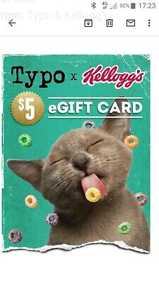 $5 Gift Card Voucher for TYPO store