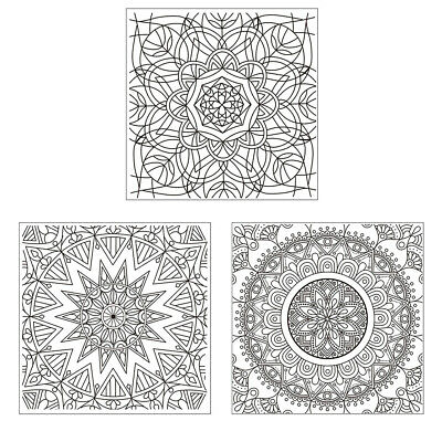 DIY Magic Pattern Silicone Clear Stamp Cling Seal Scrapbook Embossing Album deco