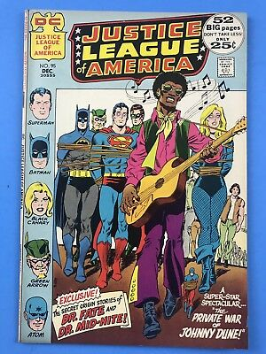 Justice League Of America 95 - DC Comics  1971 FN