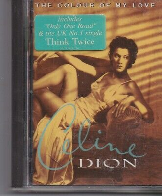 Celine Dion-The Colour Of My Love minidisc Album