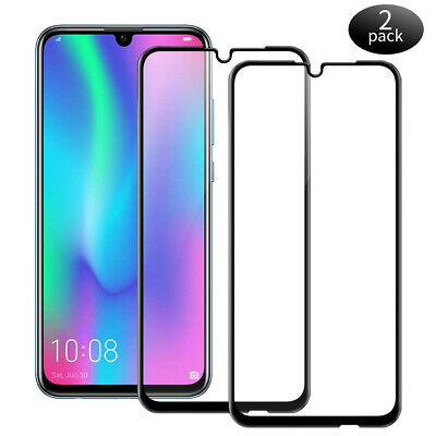 2Pcs For Huawei P Smart 2019 Honor 10 Lite 9D Tempered Glass Screen Protector CA