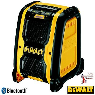 DeWalt DCR006 XR Bluetooth Speaker 10.8v - 18v Li-ion Bare unit *No Battery*
