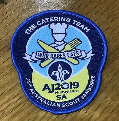 AJ2019 Scout Jamboree 'The Catering Team' Badge BRAND NEW