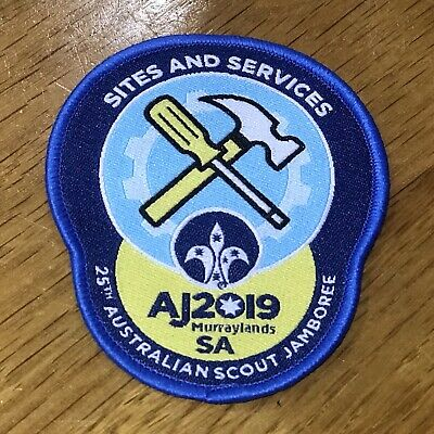 AJ2019 Scout Jamboree 'Sites and Services' Badge BRAND NEW
