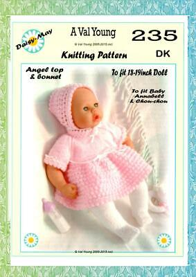 1  DOLLS KNITTING PATTERN 4 ANNABELL BY DAISY-MAY*No 229