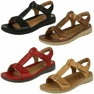 1b1d927284ad99 LADIES CLARKS T-BAR Occasion Wear Sandals  Curtain Crush  -  59.04 ...