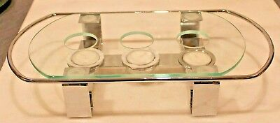 Good Quality Metal & Glass Food Warmer