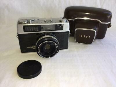 COLLECTABLE VINTAGE TARON VIC TARONAR FILM CAMERA 45mm LENS ATTACHED PHOTOGRAPHY