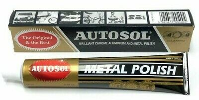 Autosol Solvol Chrome Polish Aluminium & Metal Polish Car Motorcycle