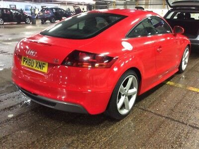 60 Audi Tt 2.0 Tdi Quattro S-Line Manual - 2F/owners, 9Stamps, 1/2 Leather, Nice