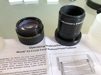 Meade f/3.3 Focal Reducer/Field Flattener & Variable T-Adapter