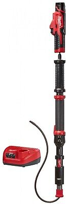 2574-21 MILWAUKEE M12 4 ft. Cordless Urinal Auger Trap Snake Drain Cleaning Kit