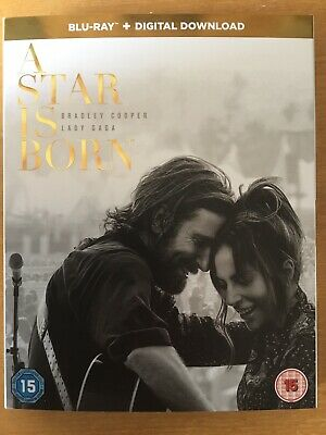 A star Is Born 2018 - Blu Ray + Digital Download - New But Not Sealed