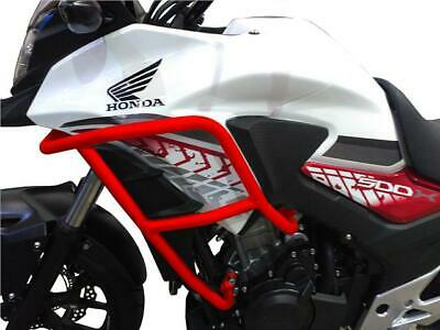 CrossPro RED Engine Crash Bars Honda CB500X 2018