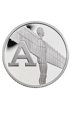 Rare 2018 Alphabet A-Z 10p Ten Pence Coin A angel Of The North From Sealed Bag