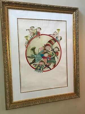 Circle of Musicians 1980 by Graciela Rodo Boulanger Signed Limited Edition