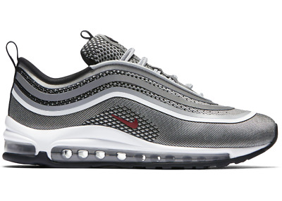 more photos d2e8b b5178 Nike Air Max 97 ULTRA 17 Silver GRIGIE Originali GREY nuove SNEAKERS SHOES