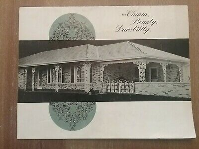 VINTAGE ORNAMENTAL IRON SALES ADVERTISING CATALOG 1960's