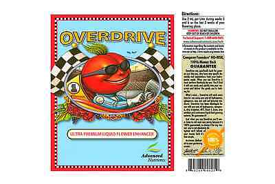 ADVANCED NUTRIENTS OVERDRIVE 1L decanted in clear bottle for transport