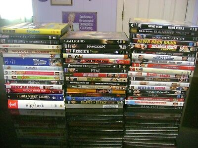 LOT OF 50 DVDs! Drama, Horror, Comedy, , TV Shows, Great Mixed Lot of Movies!