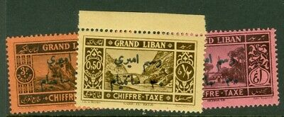 Lebanon. Fiscal Tax. 1938.  overprinted on postage due stamps