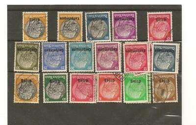 timbres FRANCE Alsace Lorraine